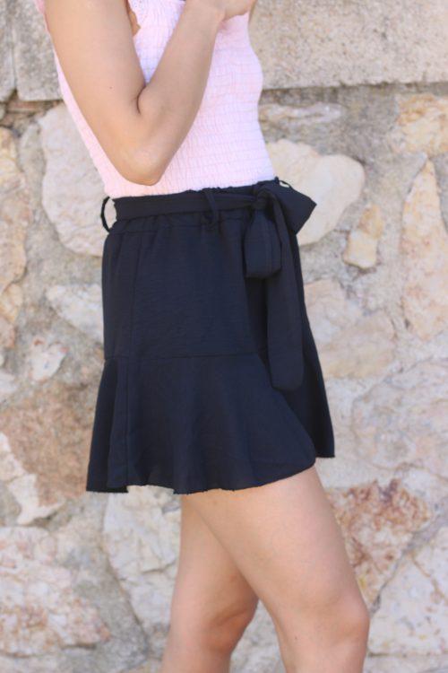falda pantalón liso